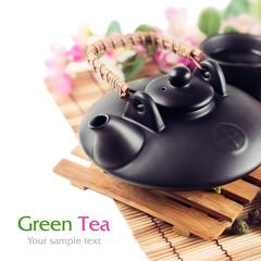 Asian teapoton