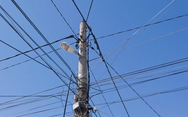 electric city pillar