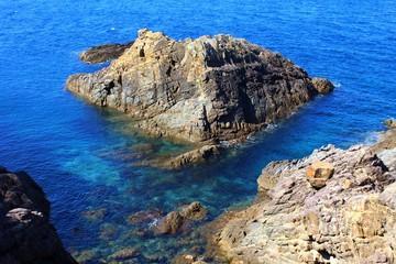 天草西海岸の岩礁