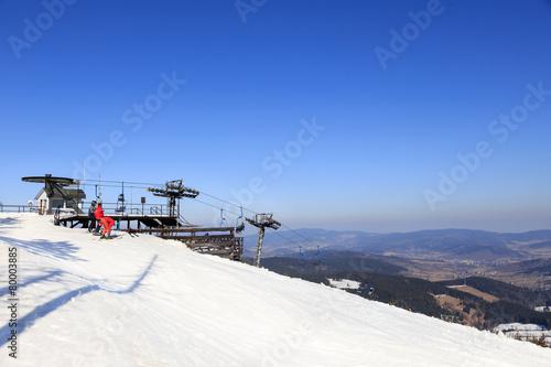 Zima na Czarnej Górze w Stroniu Śląskim, masyw Snieżnika - 80003885