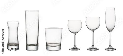 canvas print picture glasses