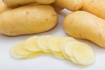 Pommes de terre rondelles