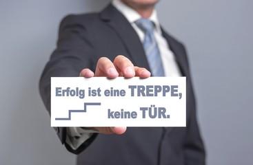 Erfolg = Treppe