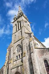 Eglise St Pierre de Plogastel st Germain, Bretagne, Finistère