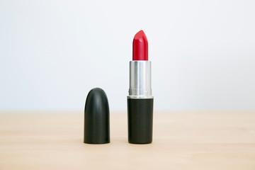 Closeup image of lipstick
