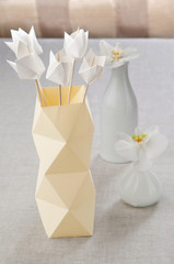 Tulips in a Vase origami origami
