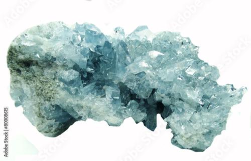Fotobehang Edelsteen celestite geode geological crystals