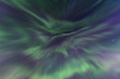 Beautiful and colorful Northern Lights or Aurora Borealis