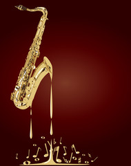 Melting Saxophone Music