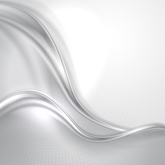 Abstract gray wave background