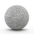 Kugel, Platin, Edelmetall, Mineral, Erz, kubisch, edel, silbern - 80012858