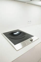 Induction hob for wok