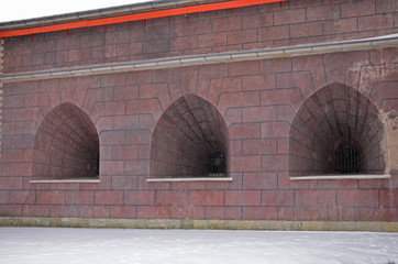 St.Peter and Paul Fortress.Zotov bastion.