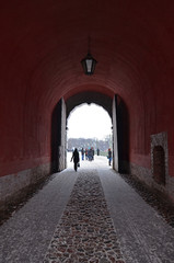 The gate of The St.Peter and Paul Fortress