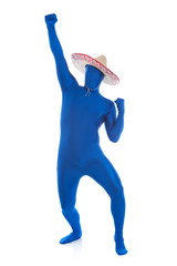 Blue: Mexican Man Parties