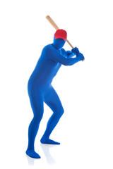 Blue: Baseball Player