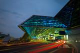 Fototapety Taoyuan airport in taiwan at night