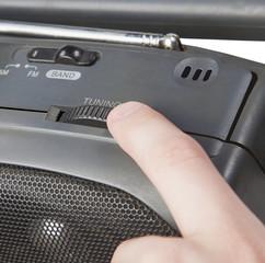 tuning the radio