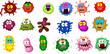 Bacteria Set for you design - 80019408