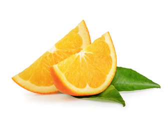 Orange fruits isolated