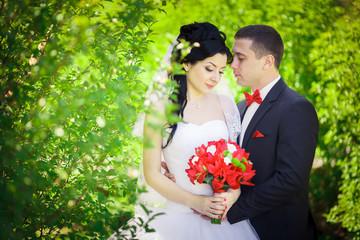 Wedding Details red