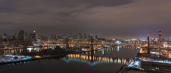 New-York at night