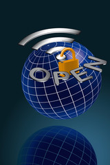 Open wlan global
