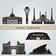 Astana landmarks and monuments