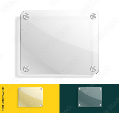 glass background with color variations - 80024424