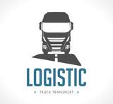 Logo - Logistic truck