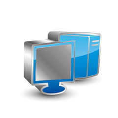 Computer 3D Icon