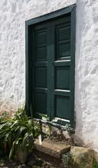 Eingangstür Bauernhaus La Palma  Kanaren