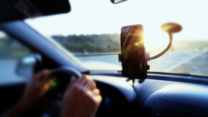 Using mobile phone during driving
