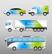 Zdjęcia na płótnie, fototapety, obrazy : Transport Advertisement Design