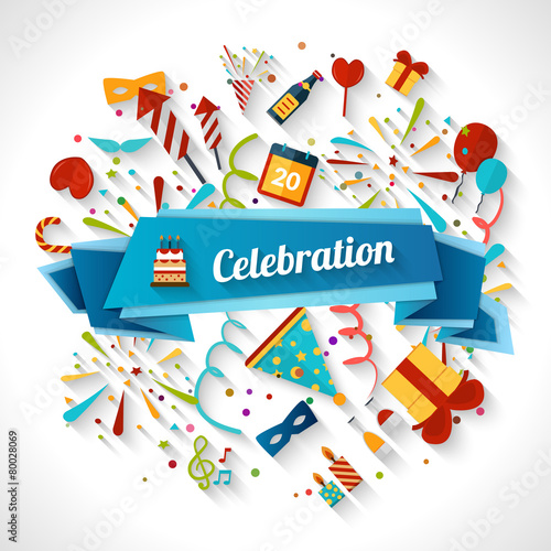 Celebration Background Illustration - 80028069