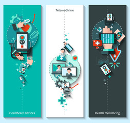 Digital Medicine Banners Vertical