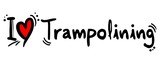 Trampolining love