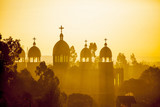 Ethiopian orthodox church at dawn - 80029057