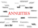 Annuities concept poster