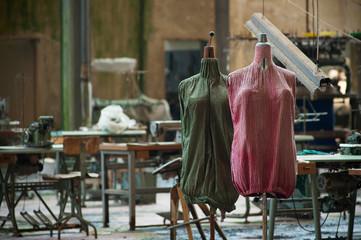 Fabbrica tessile abbandonata