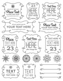 Swirl Frames & Elements poster