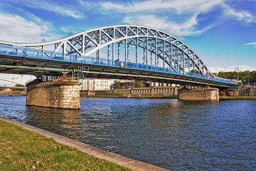 Krakau Blaue Brücke