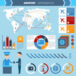 Airport Infographics Set - 80032009