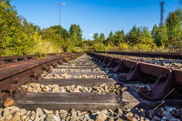 Totes Gleis führt ins Nichts