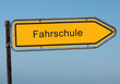 Strassenschild 38 - Fahrschule