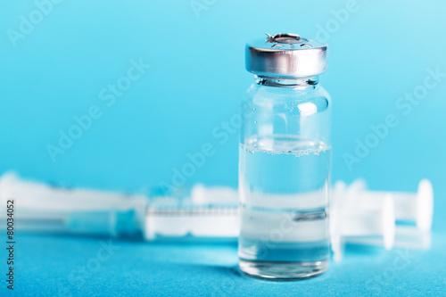 bottle of medicines close-up - 80034052
