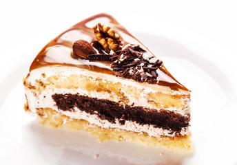 fresh nutty piece of cake