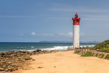 Southafrica - Lighthouse on the beach