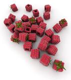Cubic raspberries