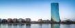 Leinwanddruck Bild - Europäische Zentralbank in Frankfurt am Main